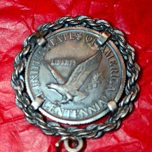 1976 Centennial United States Coin Pendant